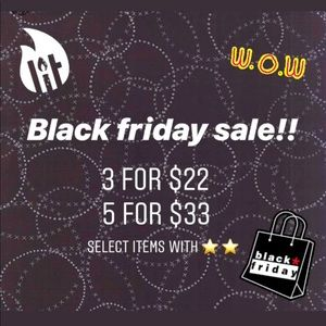 Black Friday sale! Or make me any offer!!